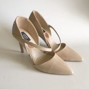 jones new york signature cheryl nude pointy heels